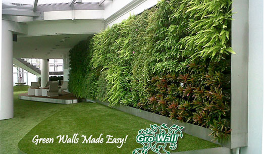 Atlantis grow wall vertical garden system product ods for Vertical garden wall systems