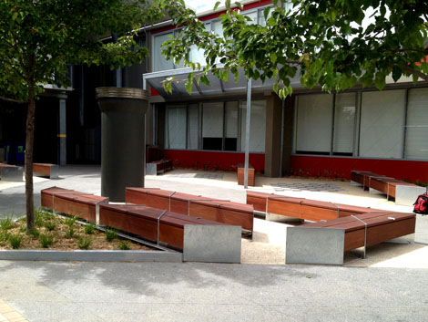 Outdoor Seating Benches St Michael 39 S Grammar School