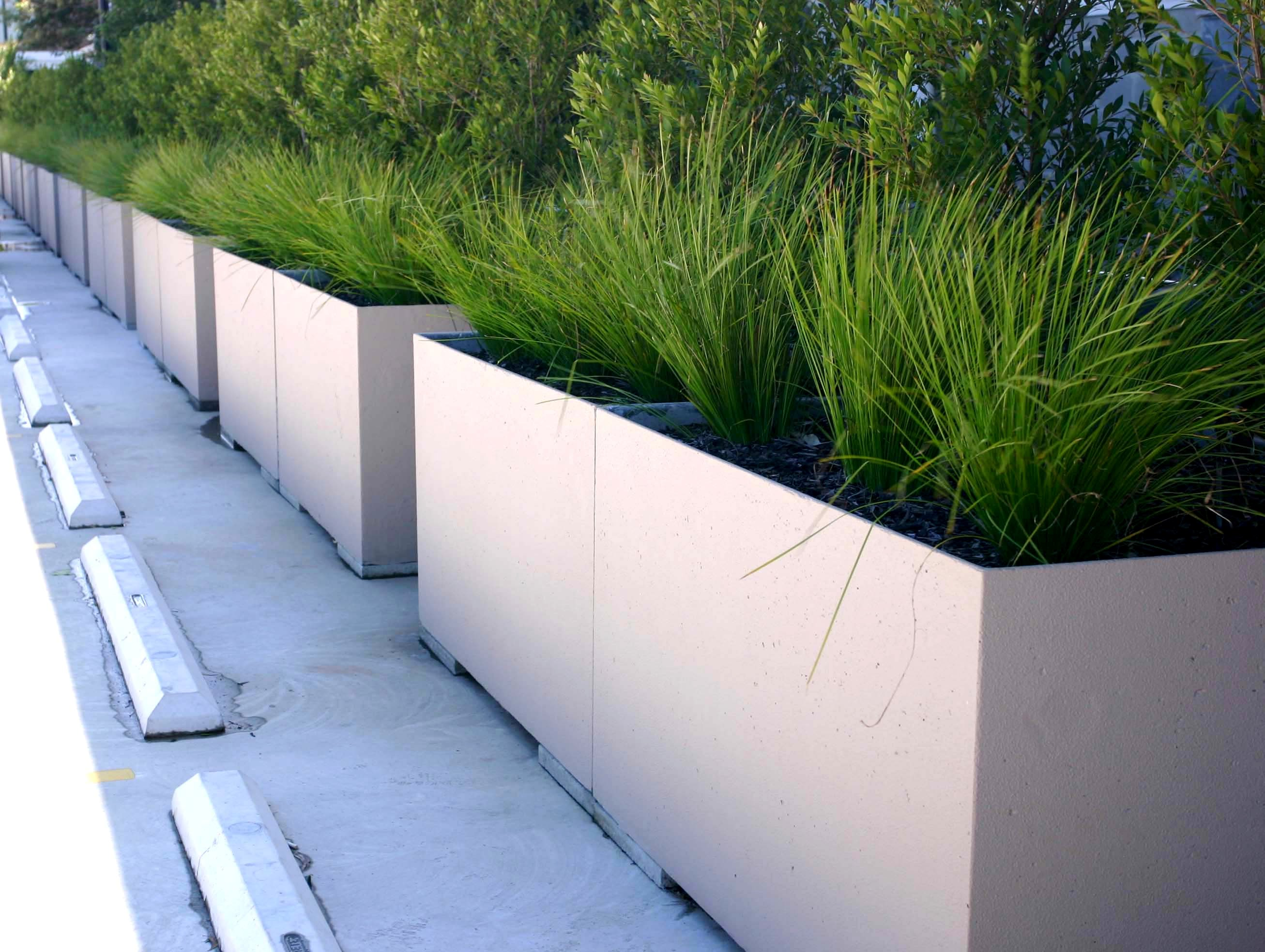 Lightweight concrete planters from mascot precast grc Concrete planters
