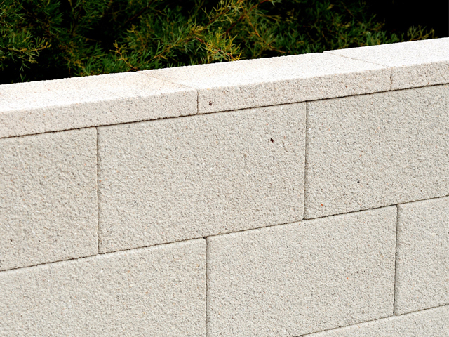 Landscape Block Wall Systems : A versastone? retaining wall system is perfect for