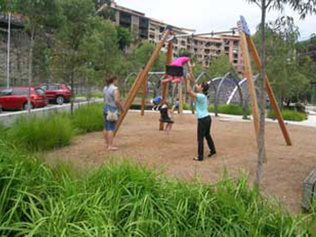 Playgrounds set to increase green space product ods for Soft landscape materials