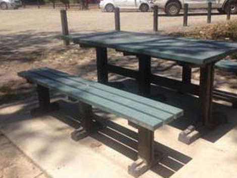 Councils benefit from recycled plastic furniture project for Low maintenance outdoor furniture