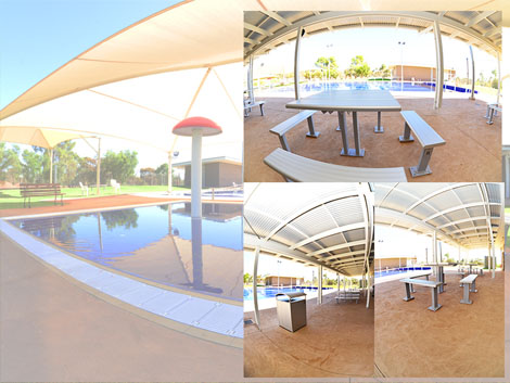 quorn swimming pool project ods