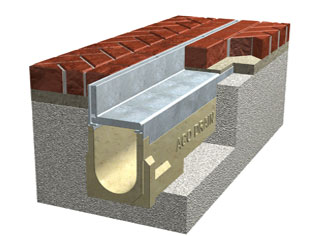 Discrete drainage for Skypark | ACOPolyimageone | ODS