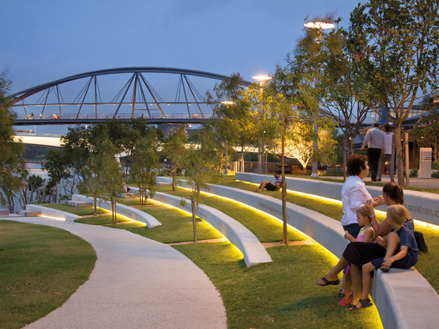 Flood of ideas washes away competition ods for Landscape architect brisbane