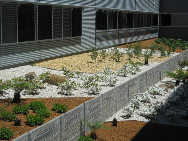 A natural beauty ods for Soft landscape materials