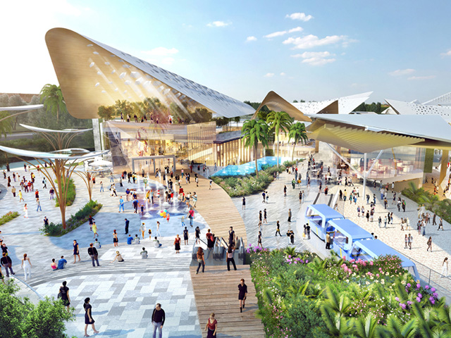 Reclaimed Island Becomes Entertainment Paradise | Benoy71-2017032214901549623171 | ODS