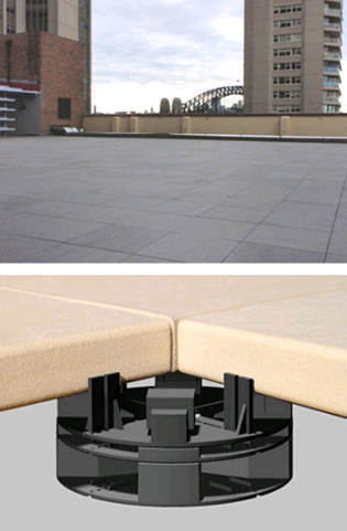 VersiPave®GP - lightweight paving on balconies and decks | Elmich-1 | ODS