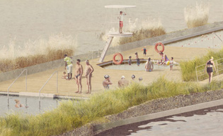 London s floating swimming pool ods for According to jim the swimming pool