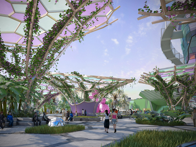 300m cultural precinct for the gold coast ods for Landscape architect gold coast