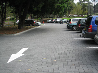 Permeable Paving   HydroconOCTtwo   ODS