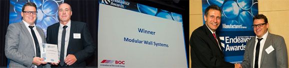 Industrial Product of the Year - Modular Wall Systems | Modular-Wall-Systems-Winner-Endeavour-Awards | ODS