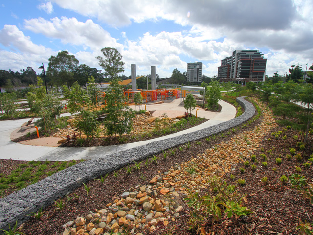 Asola landscape design construction brisbane for Landscape design courses brisbane