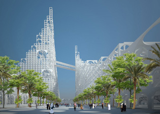 Qatar s cool complex ods for Architecture firms in qatar