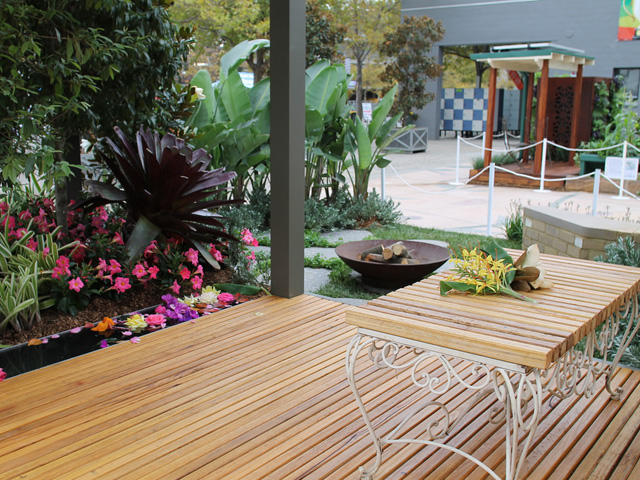 Landscaping challenge at easter show ods for Landscape design tafe