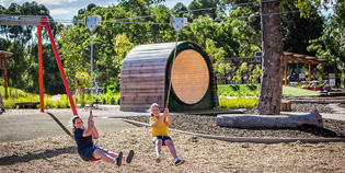 New innovative play system ods for Outdoor garden designers adelaide