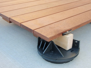 Low Height Decking Support | VJLH-Crop | ODS