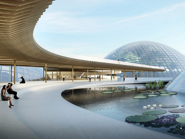 Glass Domes Form New Botanic Garden | glasshouse1-2016050414623465549535 | ODS