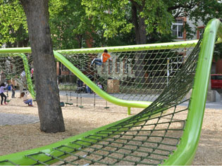 Urban Play: International playground design innovation hits Australia | green-net--2-story | ODS