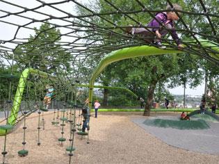 Urban Play: International playground design innovation hits Australia | green-net-3-story | ODS