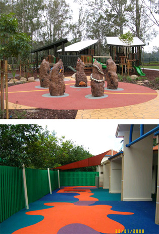 Playground rubber safety surfacing | masterfibre_203 | ODS