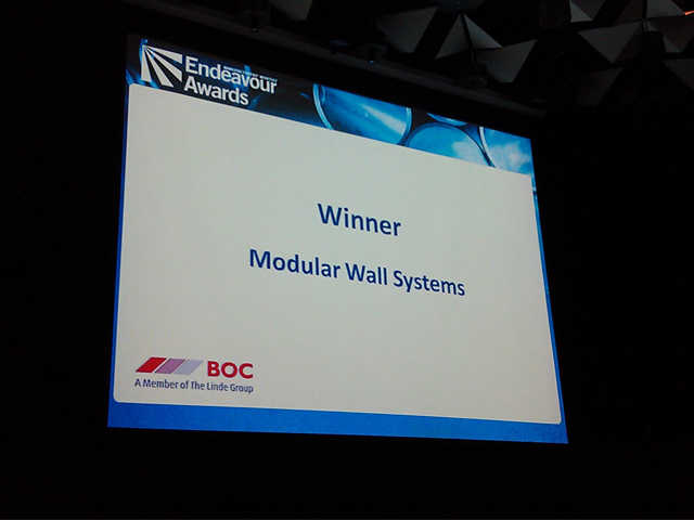 Industrial Product of the Year - Modular Wall Systems | modularwalls_winner_hero-2013060313702226927644 | ODS