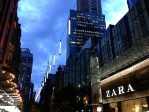 All is calm, All is bright at Pitt Street Mall