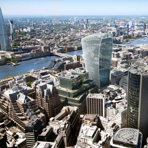 London skyscraper design not too bright