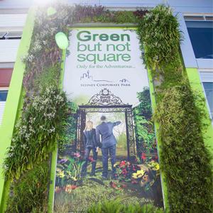Greenwalls the new billboards