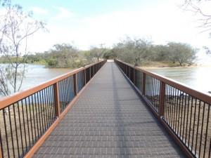 Footbridge hits the mark