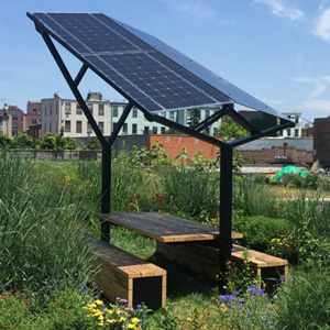 Picnic Table With Power Outdoor Design Source - Solar picnic table