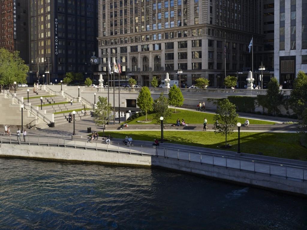 Chicago Riverwalk, USA
