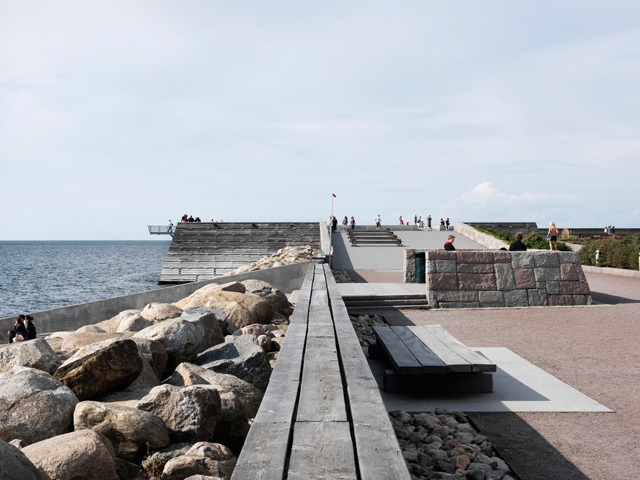 Dania Park, Oresund Strait. By Sweco Architects + Thorbjörn Andersson. Image © Jens Lindell