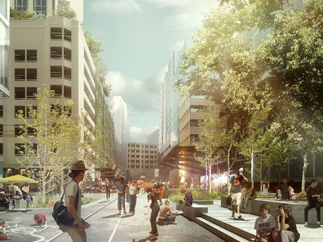 A vision of urban greening by ASPECT studios