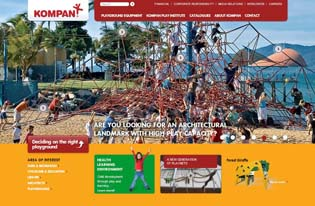 KOMPAN releases new �user-friendly� website | kompanwebsite1 | ODS