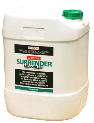 Surrender - Don't give in to moss, algae, lichen and liverwort | yates | ODS